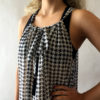 Maxi Dress MAX01 - houndstooth