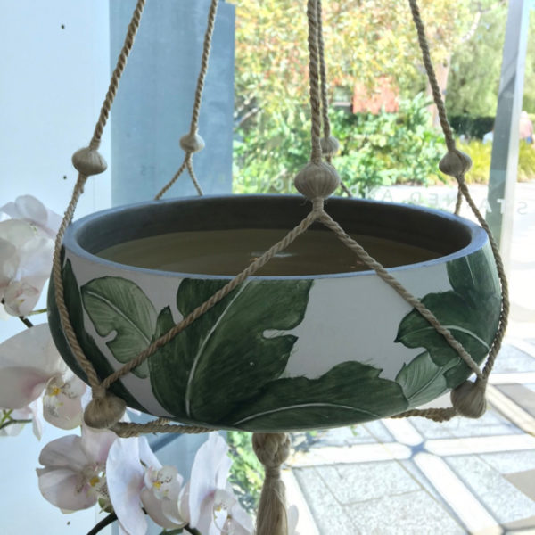 Pot Plant Holder Natural