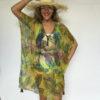 Kaftan Chiffon KAF03 - hawaiian-lime