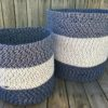 storage basket set cotton