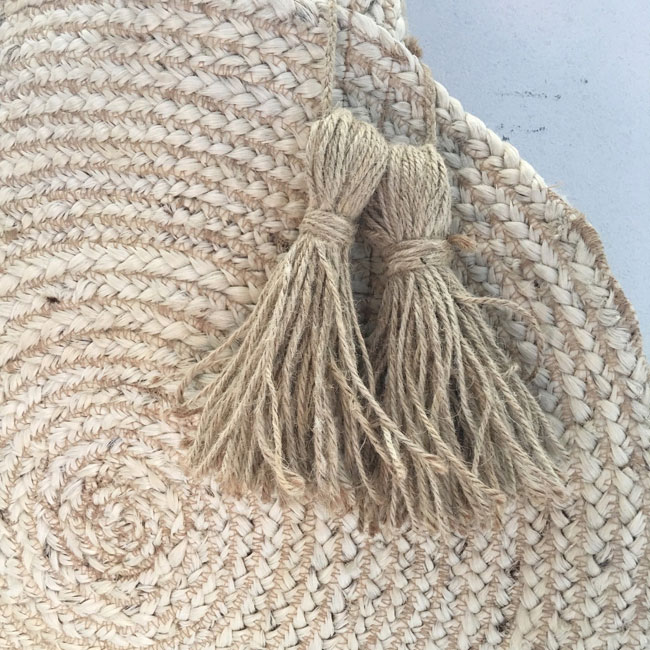 Jute Braided Hemp Bag