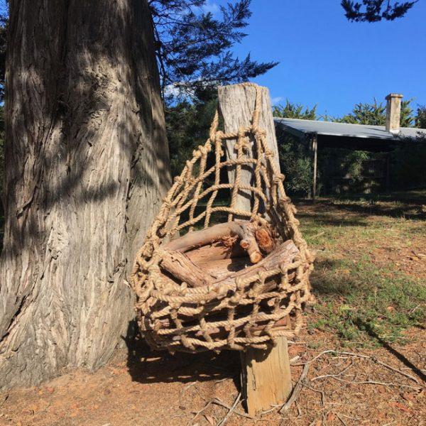 Jute Rope Basket