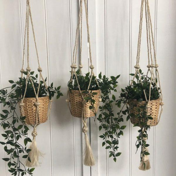 Jute Pot Plant Holder - Natural