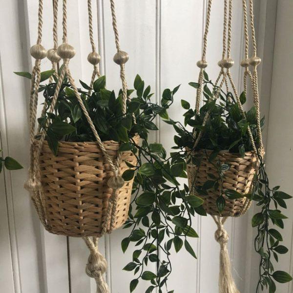 Jute Pot Plant Holder- Natural