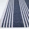 Lorne Blue White small mat-60x90