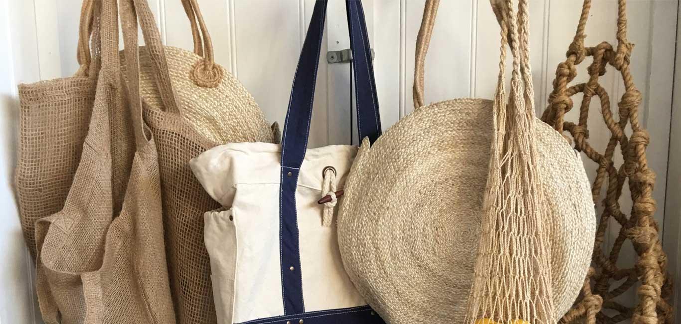 Jute & Canvas Bags