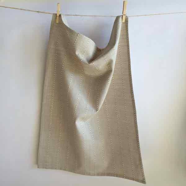 Tea Towel - Sandblast Natural