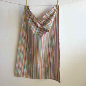 Bon Bon Stripe tea towel