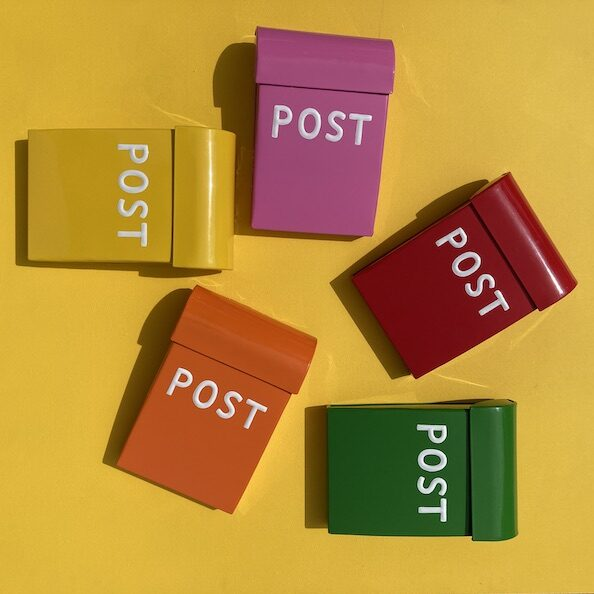Medium - Post Box - Colour
