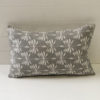 Cushion Cover Linen Date Palm 35 x 55cm - Cool Grey - cover-only