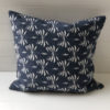Cushion Cover Linen Date Palm 50cm - Navy Blue - cover-only