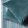 Velvet Cushion Cover - Teal
