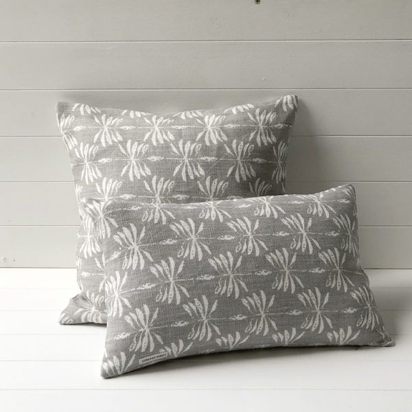 Date Palm Cushion Cover - Grey