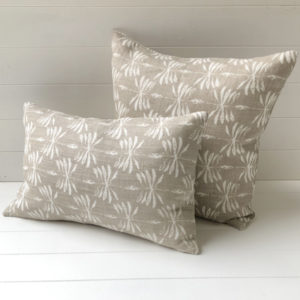 Date Palm Cushion Cover - Sand/Beige