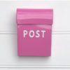Post Box - Small - hot-pink