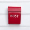 Post Box - Small - red
