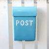 Post Box - Medium - soft-aqua