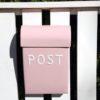 Post Box - Medium - soft-pink
