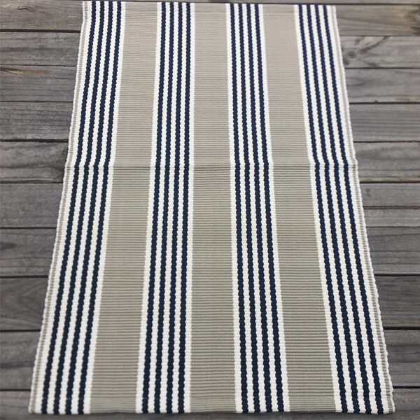 Outdoor Small Mat - Durban Stripe