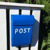 Post Box - Medium - blue