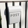 Post Box - Medium - white