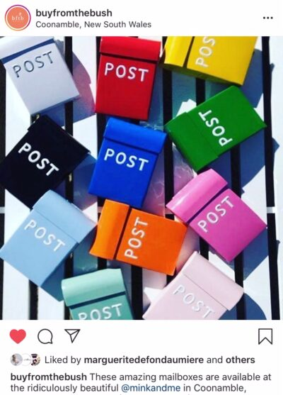 Post Box - Reed Gift Fair