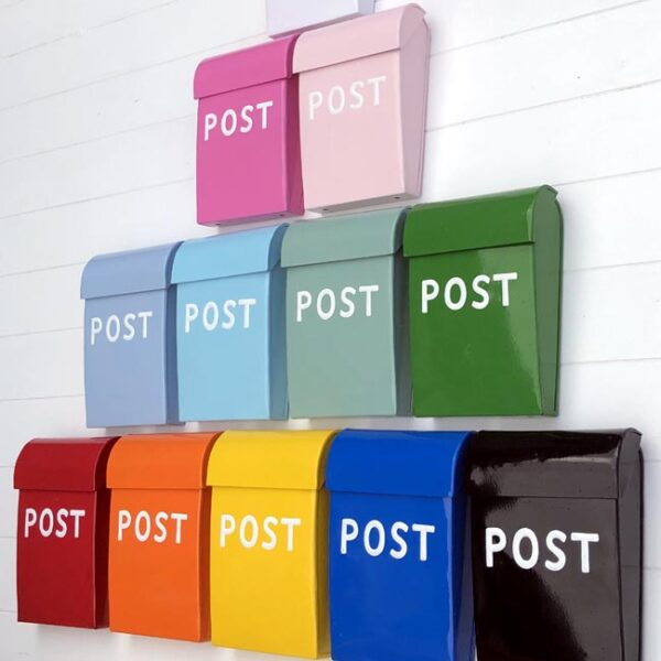 Medium Post Box - Carnival