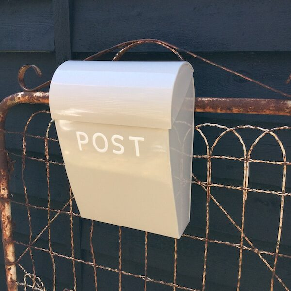 Large Lock Post Box - Sand