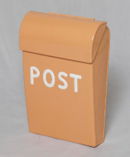 Post Box - Large - Coral