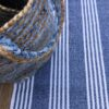 recycle cotton durban dark denim mat/rug