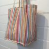 Washable Cotton Shopping Bag - bubblegum