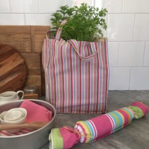 Washable Cotton Shopping Bag -Fruit Salad