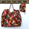 Beach Bag XXL BAG89 - red-floral