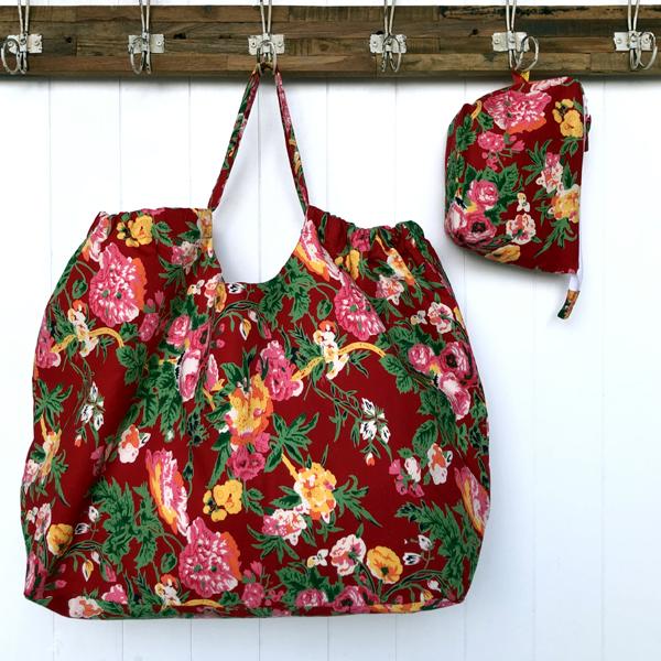 XXL Bag Red Flora