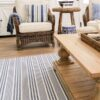 Indah Island Collaboration - Floor Rug Recycled Cotton - Flinders - 240-x-300-cm