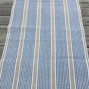 Geneva Blue Recycle Cotton 90x300