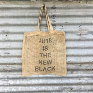 Handmade Jute Shopping Bag - Jute is the new black