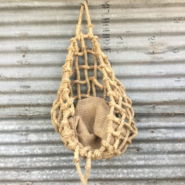 Handmade Jute Rope Basket