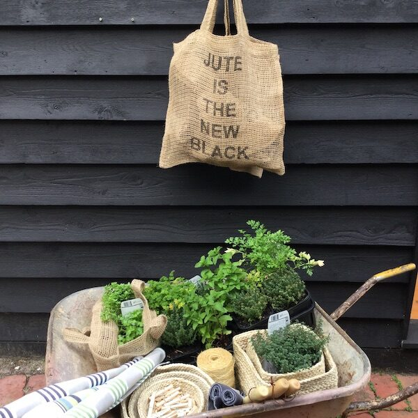 Jute is the New Black - Jute net shopping bag