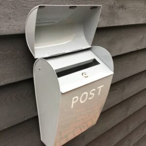 Large Grey Post Box
