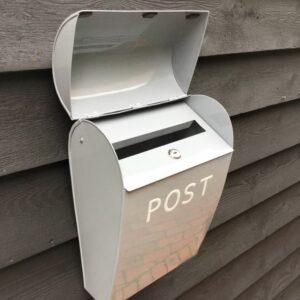 Large Grey Post Box