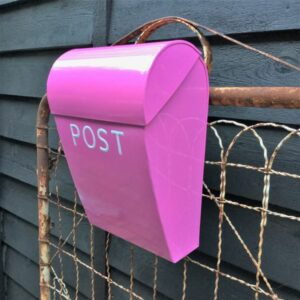 Large Post Box - Hot Pink