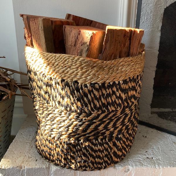 Handmade Jute Storage basket