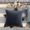 Cushion Cover Velvet 45 cm - midnight