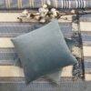 Cushion Cover Velvet 45 cm - ice-blue