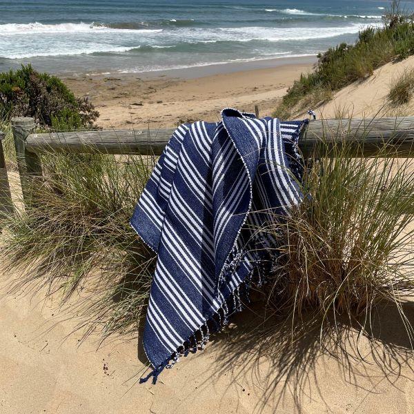 Picnic Rug - Armani Blue