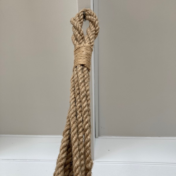Handmade Jute Rope Plant Holder