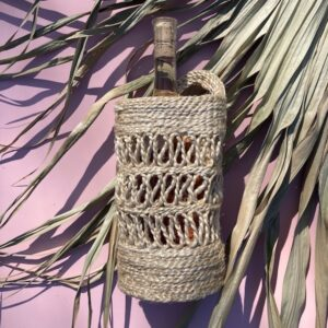 Jute Bottle Holder - Natural