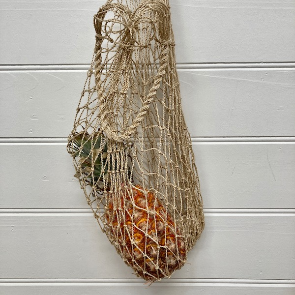 Handmade Knotted Jute Twine Natural String Bag