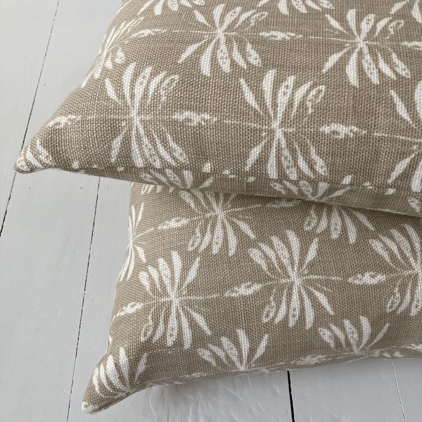Cushion Cover Linen Date Palm - Sand